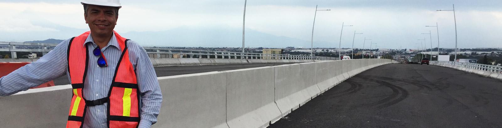 Barrera Central de concreto